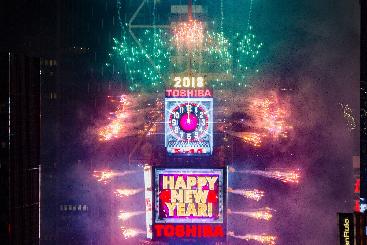 New year's eve in New York