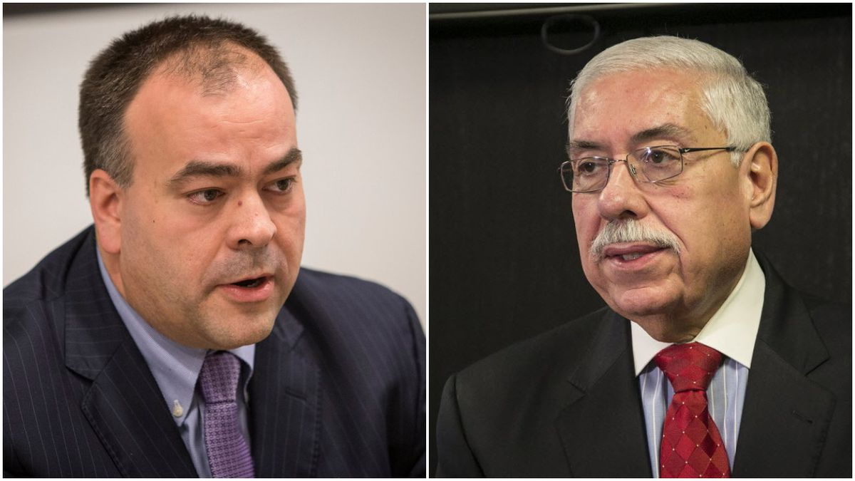 """Sources say it wasn't unusual for former Cook County Assessor Joe Berrios (right) to cut assessments even when property owners filed appeals with no evidence to support a reduction. """"It does not make any sense to us why it was lowered,"""" a spokesman for Be"""