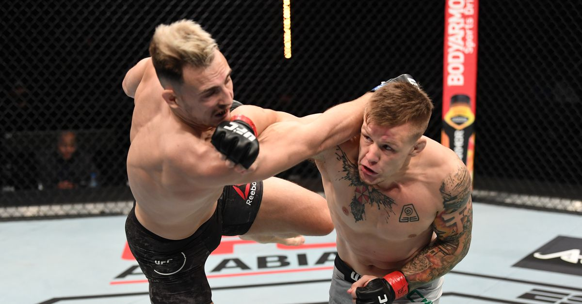 UFC Fight Island 6 video: Jimmy Crute crushes Modestas Bukauskas with devastating first-round knockout