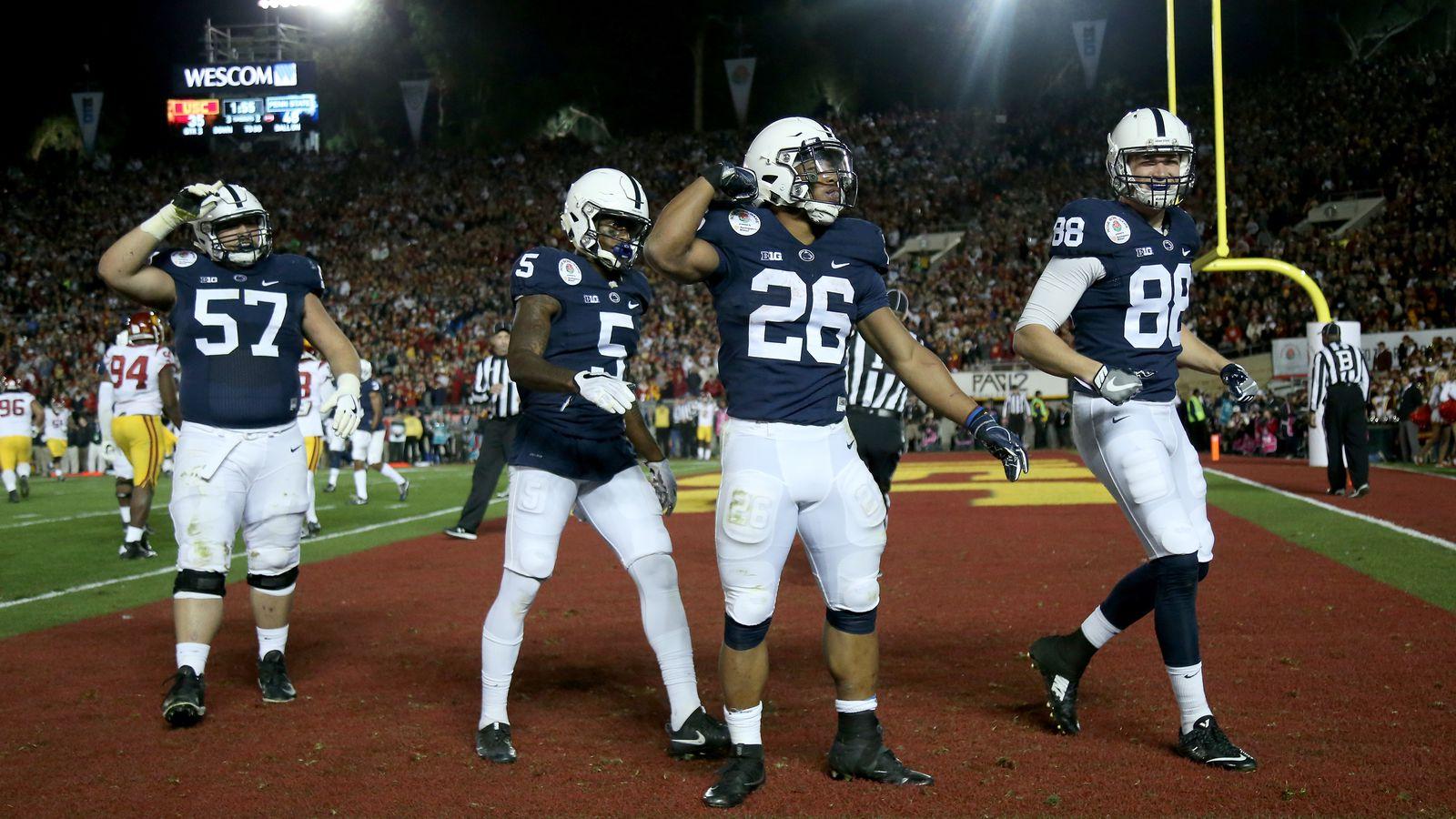 Penn State Football News Black Shoes