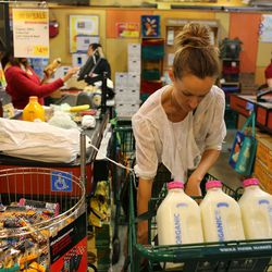 Bea Johnson, who lives in California, shops at Whole Foods. Everything she buys can be consumed, reused, recycled or composted.