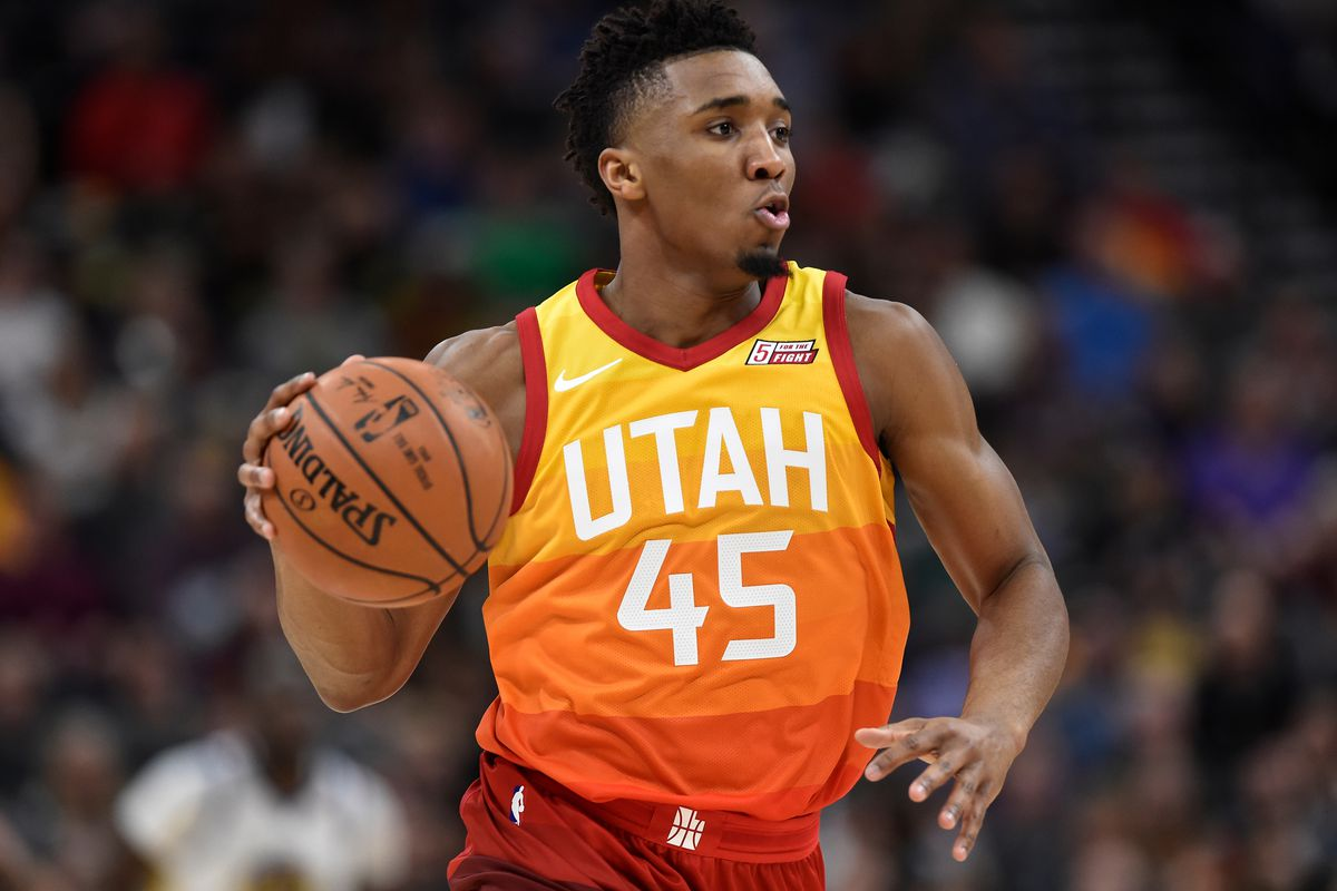 Donovan Mitchell wins seconds straight NBA Rookie of the ...