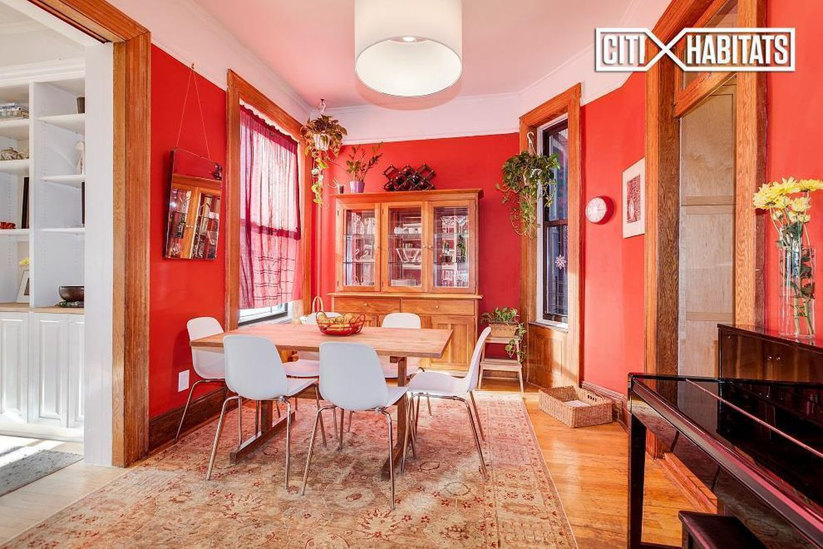 235 West 108th Street dining room