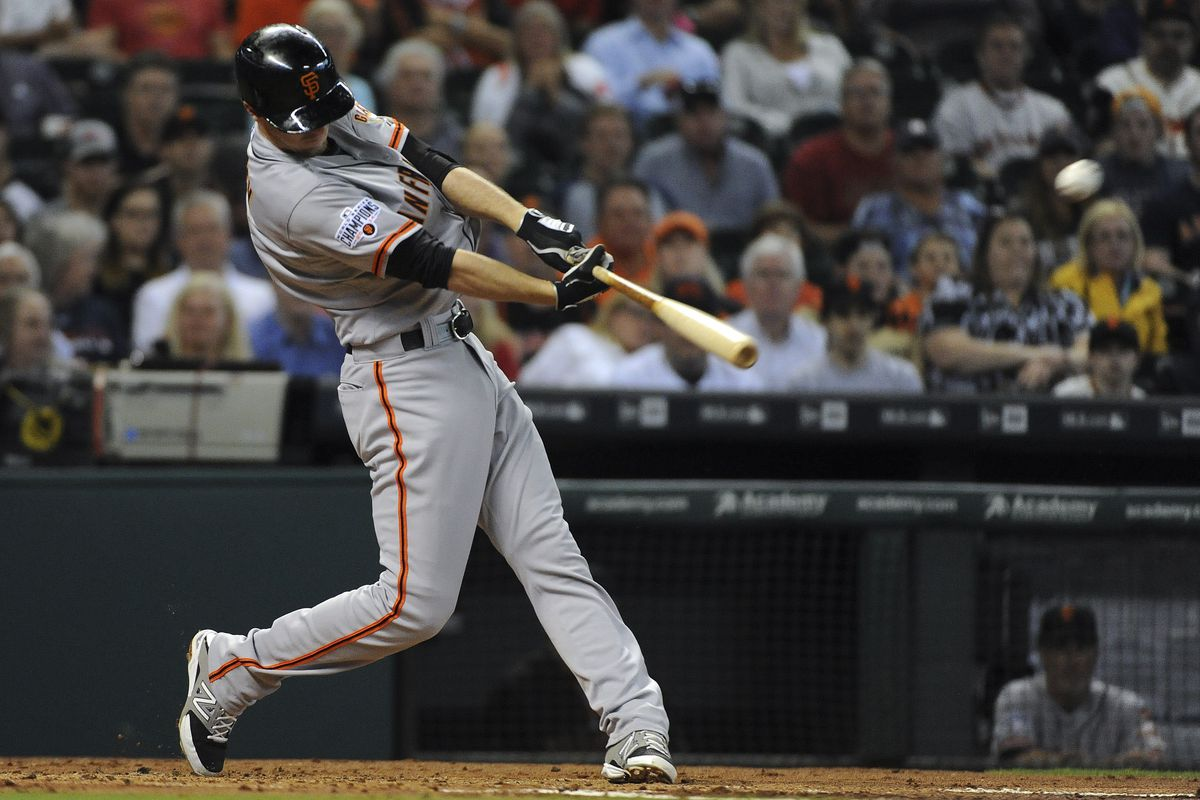 Duffman (Matt Duffy) rotates his hips and throws his hands through the zone in the direction of the problem.