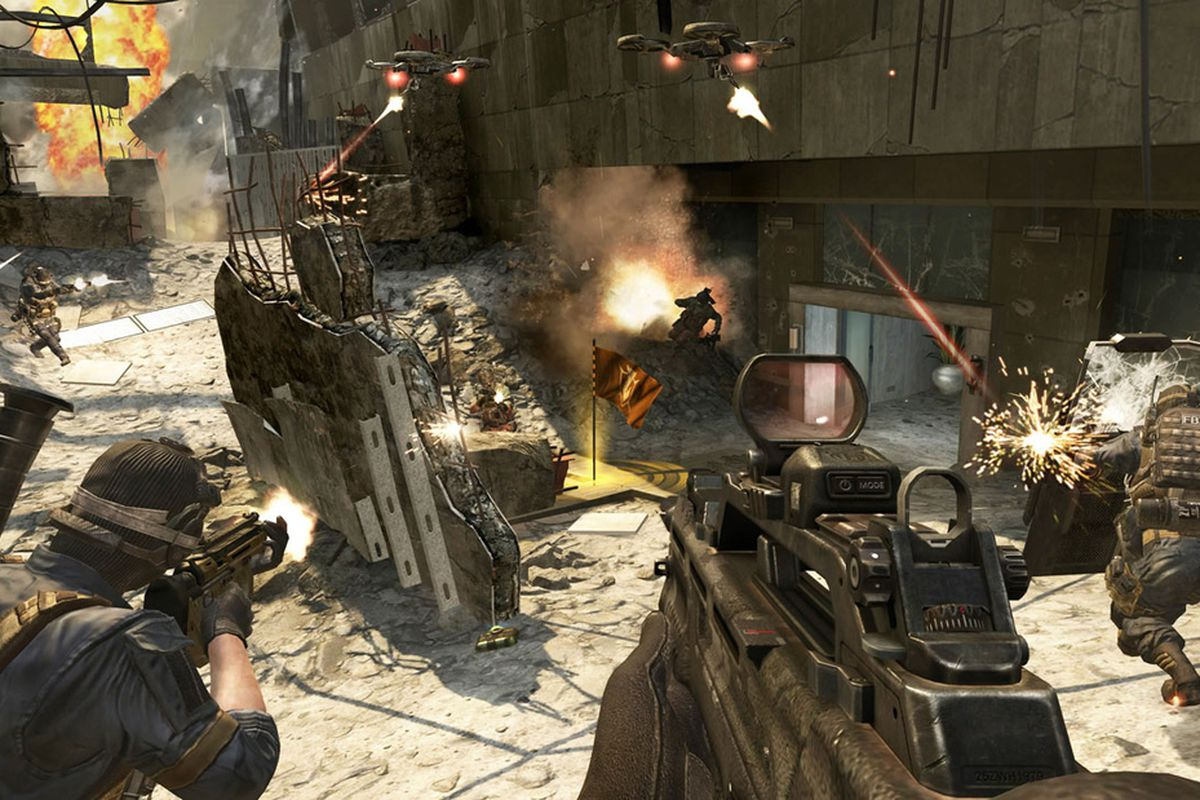 Gallery Photo: Call of Duty: Black Ops 2 multiplayer screenshots