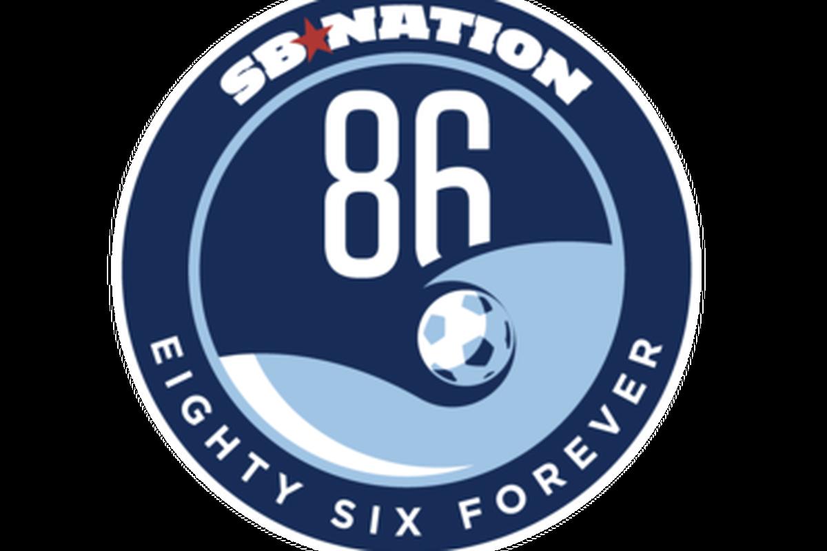 New Eighty Six Forever Logo. SB Nation