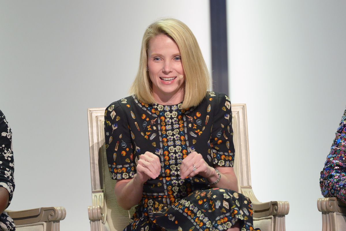 Former Yahoo CEO Marissa Mayer        Matt Winkelmeyer  Getty Images for Glamour