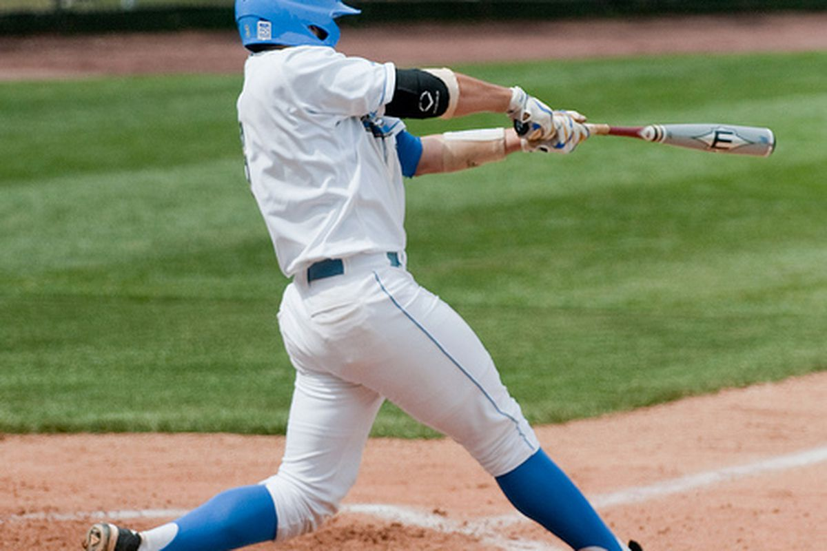 """<em>Steve Rodriguez and co. will be swinging for their last regular season series win today. Photo Credit: <a href=""""http://www.flickr.com/photos/mark6mauno/4470274825/"""" target=""""new"""">mark6mauno (flickr)</a></em>"""