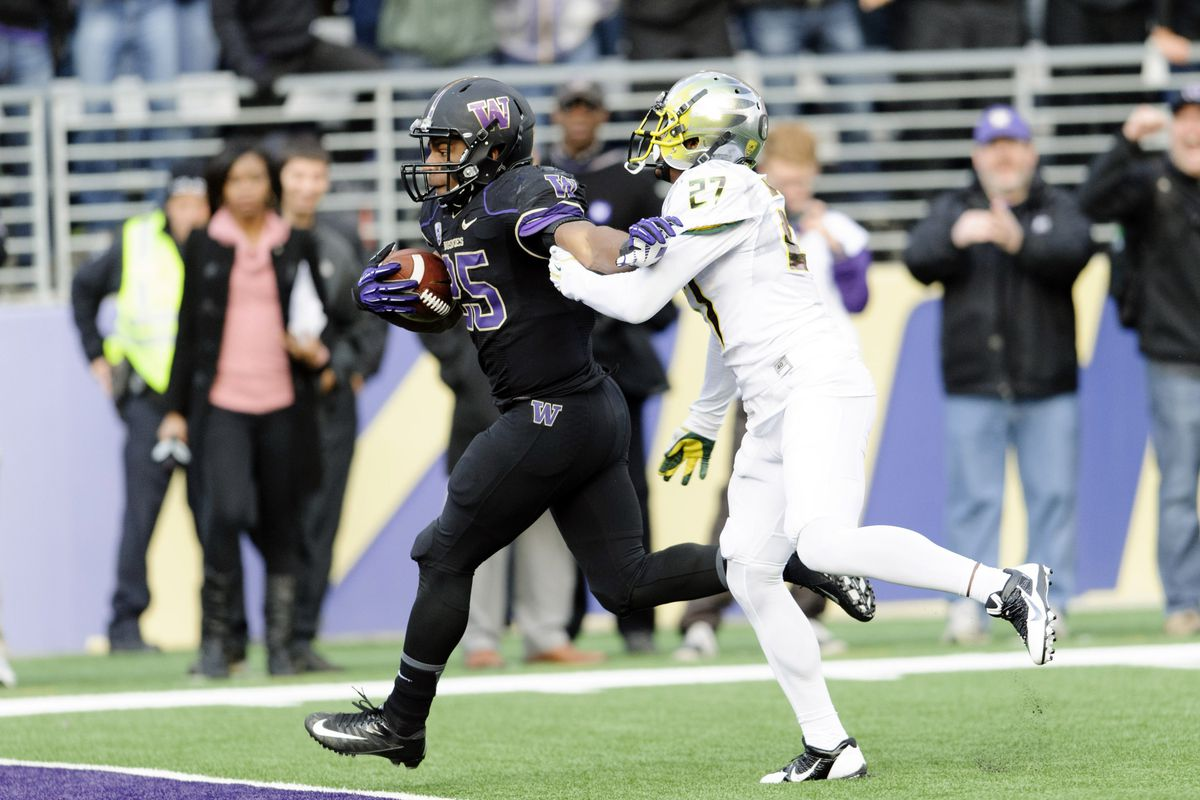Bishop Sankey's big day wasn't enough for the Huskies