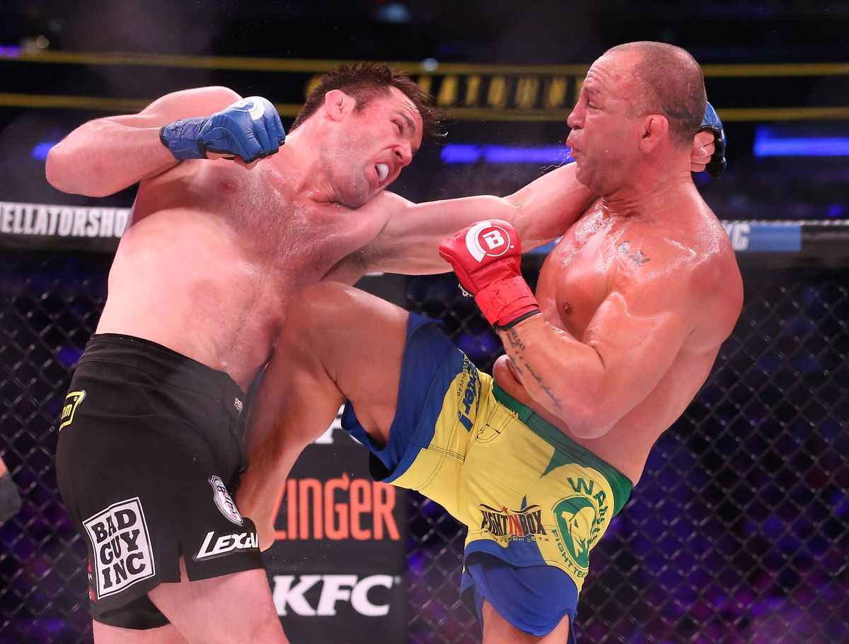 MMA: Bellator NYC-Sonnen vs Silva