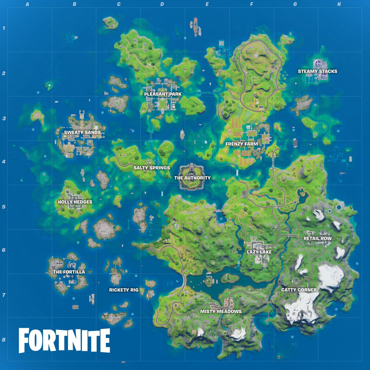 Fortnite Chapter 2 Season 3 Has Flooded The Battle Royale Island