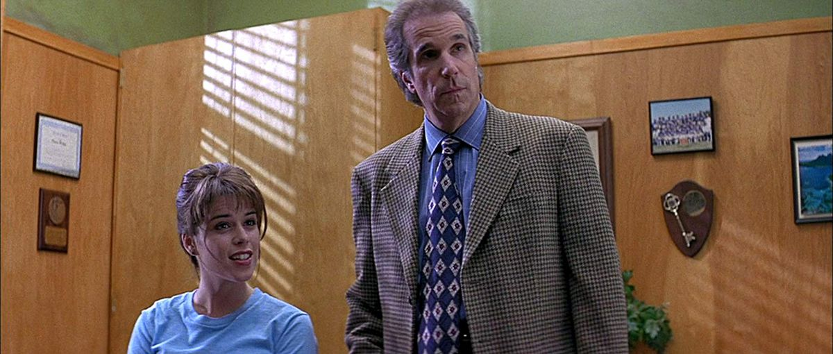 principal himbry (henry winkler) teaches an important lesson to sidney