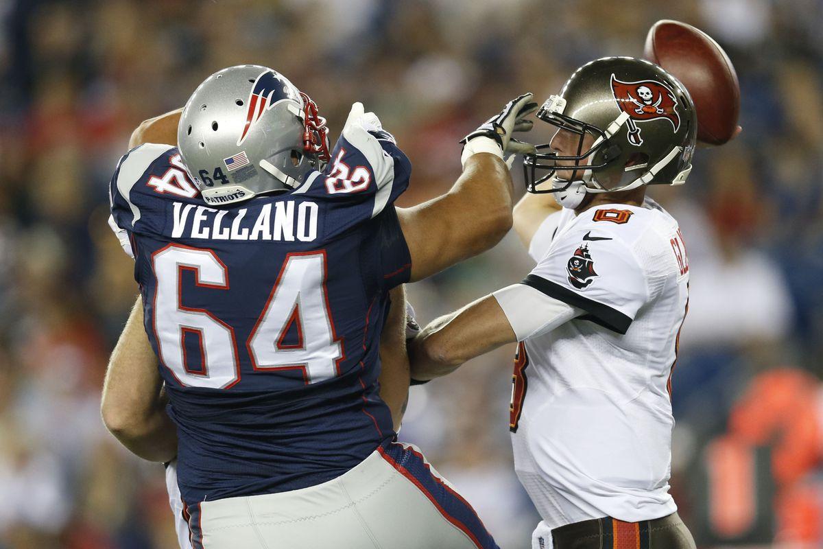 Joe Vellano had a nice game for New England in week 1.