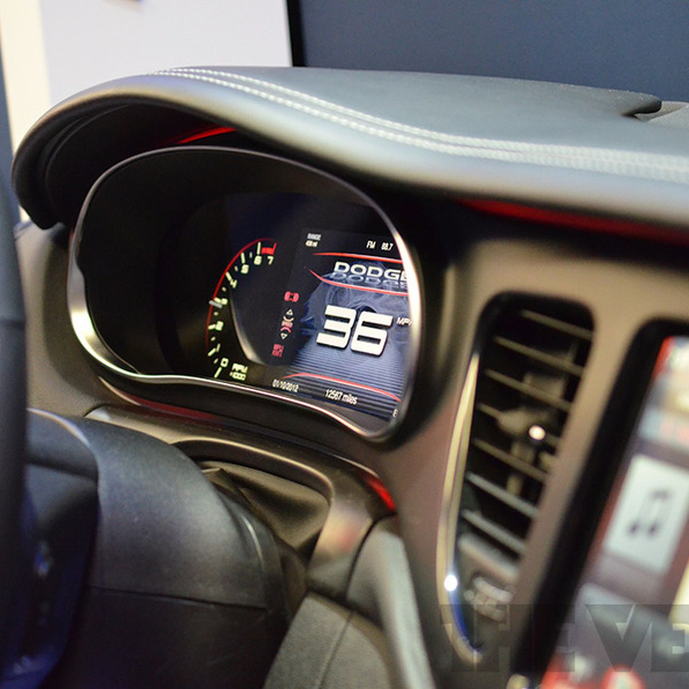 The 2013 Dodge Dart S New Digital Dashboard Hands On Photos The Verge