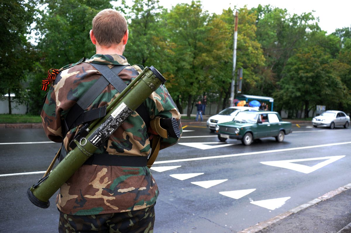 ukraine rebel DOMINIQUE FAGET/AFP/Getty Images