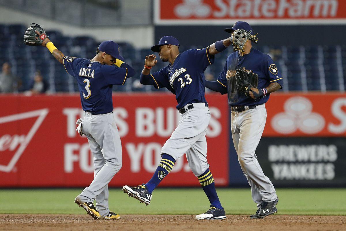MLB: Milwaukee Brewers at New York Yankees