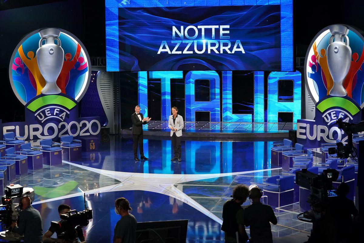 Italy Players Attend Sogno Azzurro TV Show