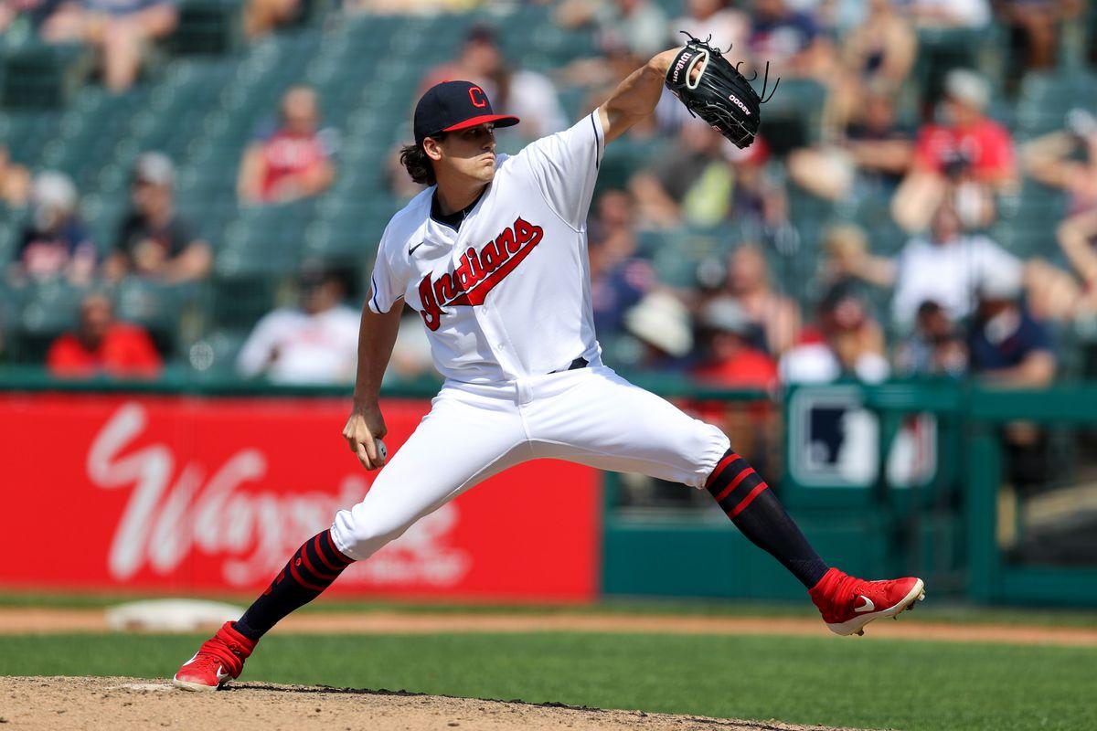 MLB: MAY 23 Twins at Indians