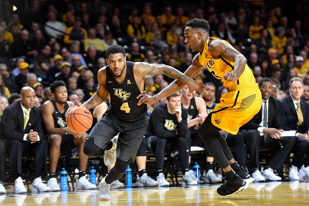 NCAA Basketball: Central Florida at Wichita State