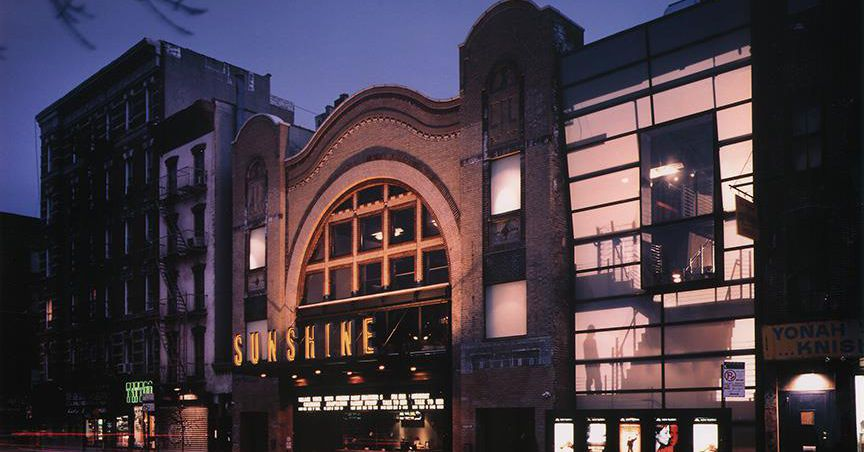 Lower East Side's Sunshine Cinema is headed toward demolition ...