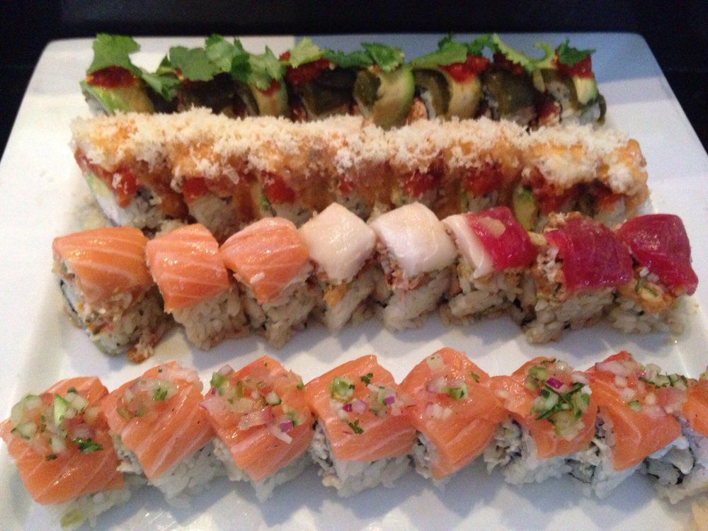 Rolls from Tomodachi Sushi
