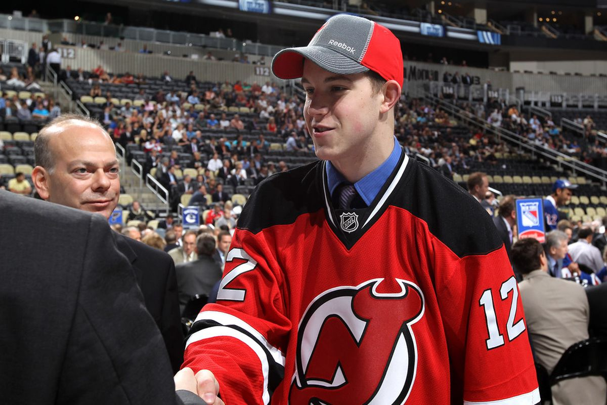 Damon Severson  The Second Round Pick of the New Jersey Devils in the 2012  NHL Draft 46f37aede