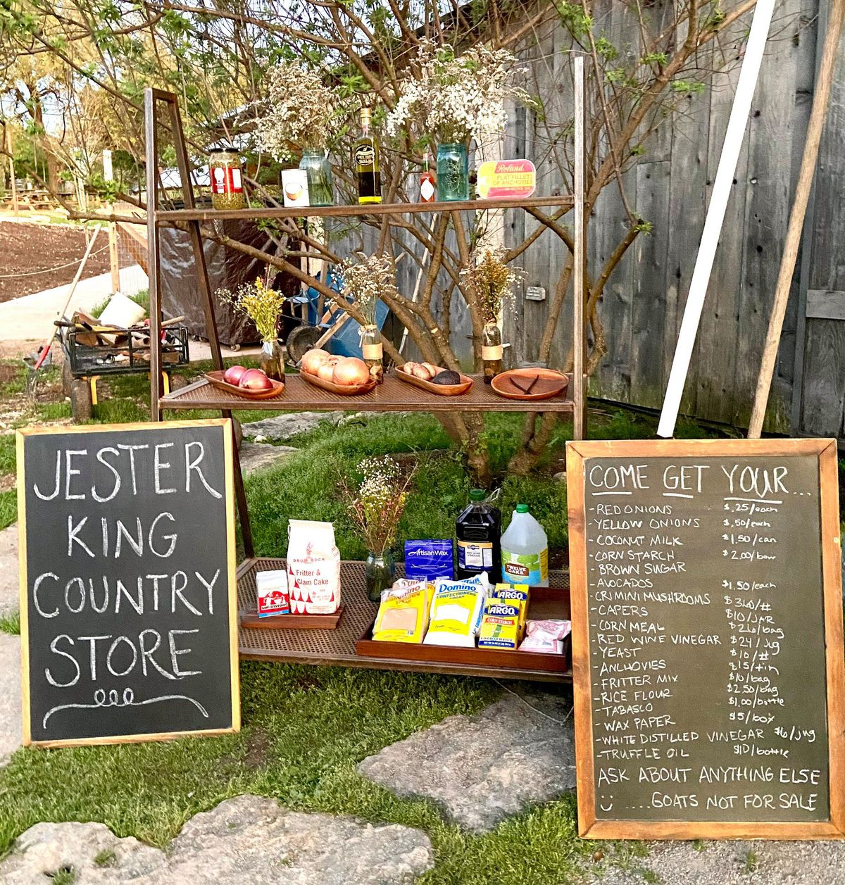 Jester King's Country Store