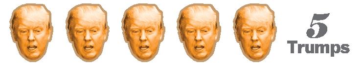 five trump rating