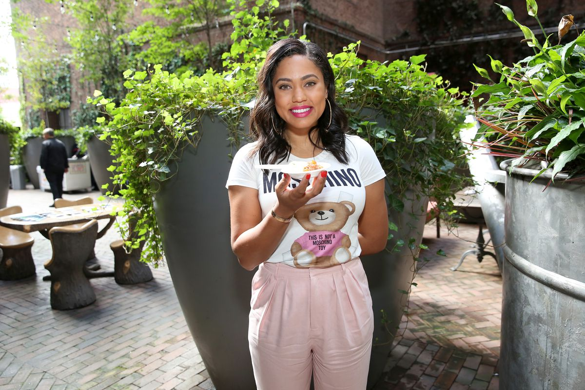 Food Network & Cooking Channel New York City Wine & Food Festival Presented By Coca-Cola - Family Ice Cream Fun-dae hosted by Mario Batali and Ayesha Curry