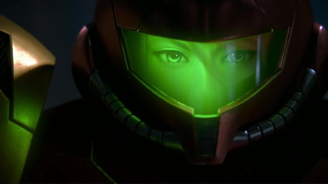 Samus Aran, as shown in a Super Smash Bros. Ultimate teaser.