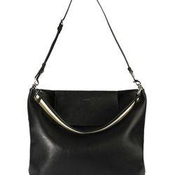 Urban Bucket Bag in Leather, $745