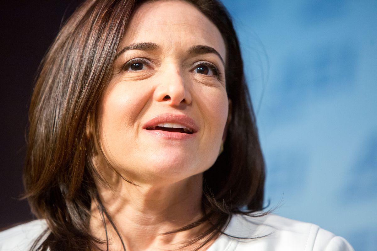 Facebook's Chief Operating Officer Sheryl Sandberg Speaks At The American Enterprise Institute In Washington D.C.