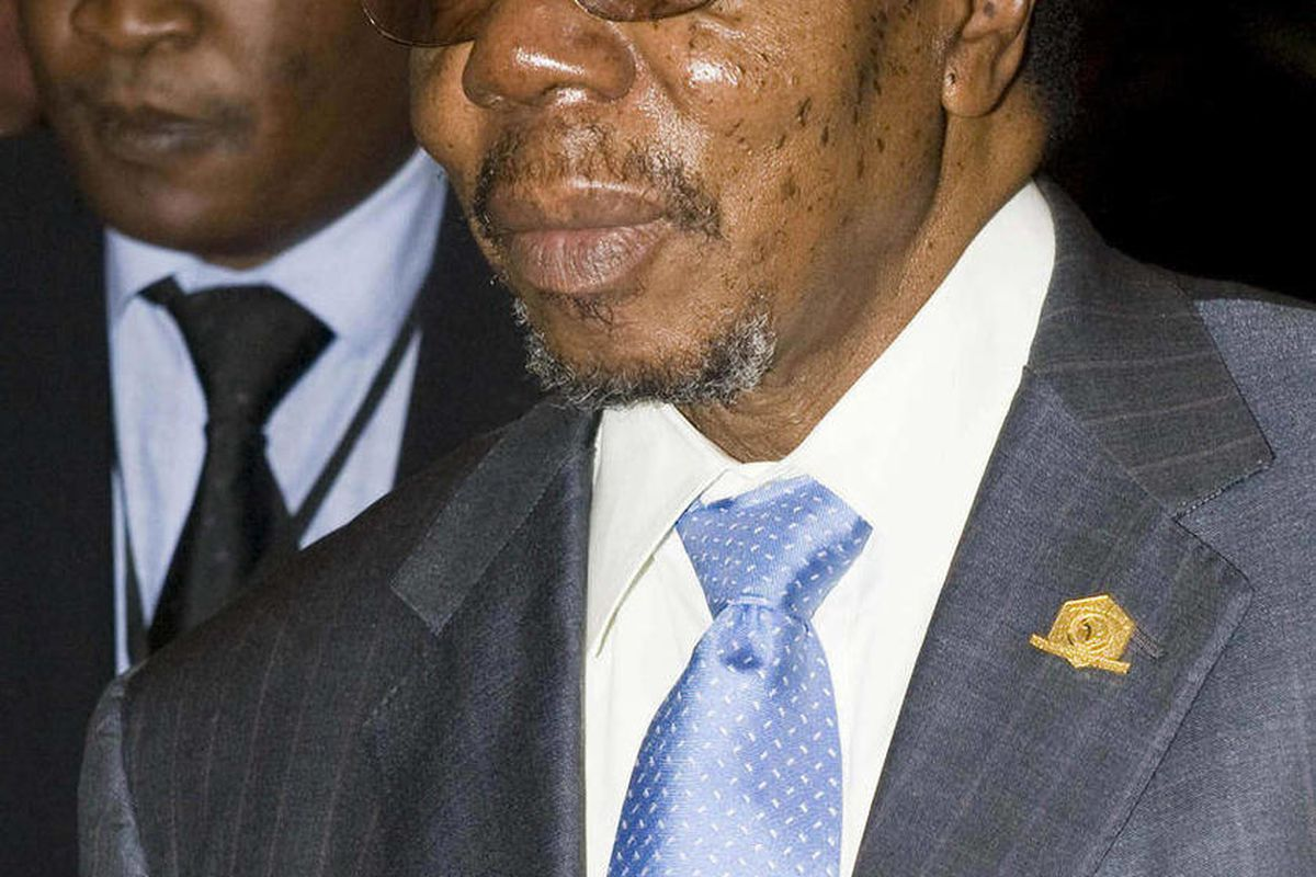 FILE - In this photo taken Monday, Feb. 1, 2010 Malawian President Bingu wa Mutharika   arrives at the UN Conference Hall in Addis Ababa, Ethiopia.   Doctors who treated Malawi's President Bingu wa Mutharika say  Friday April 6, 2012 he has died after a h