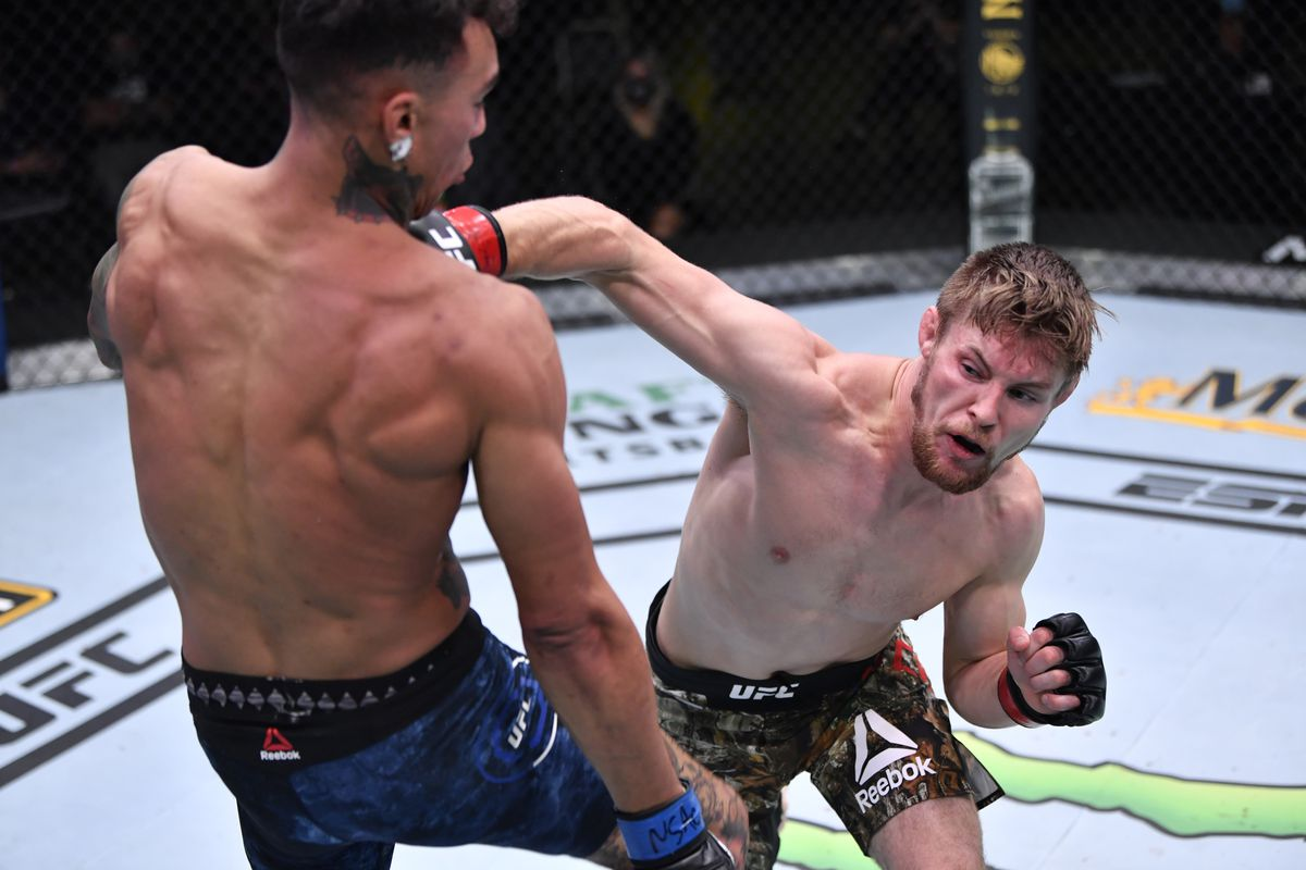 UFC Vegas 12 results: Bryce Mitchell decisions Andre Fili in competitive battle - MMAmania.com