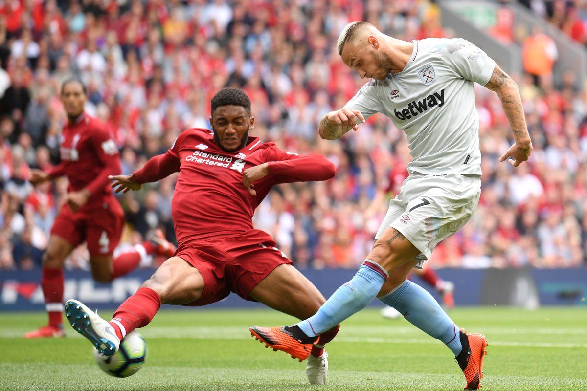Liverpool FC v West Ham United - Premier League