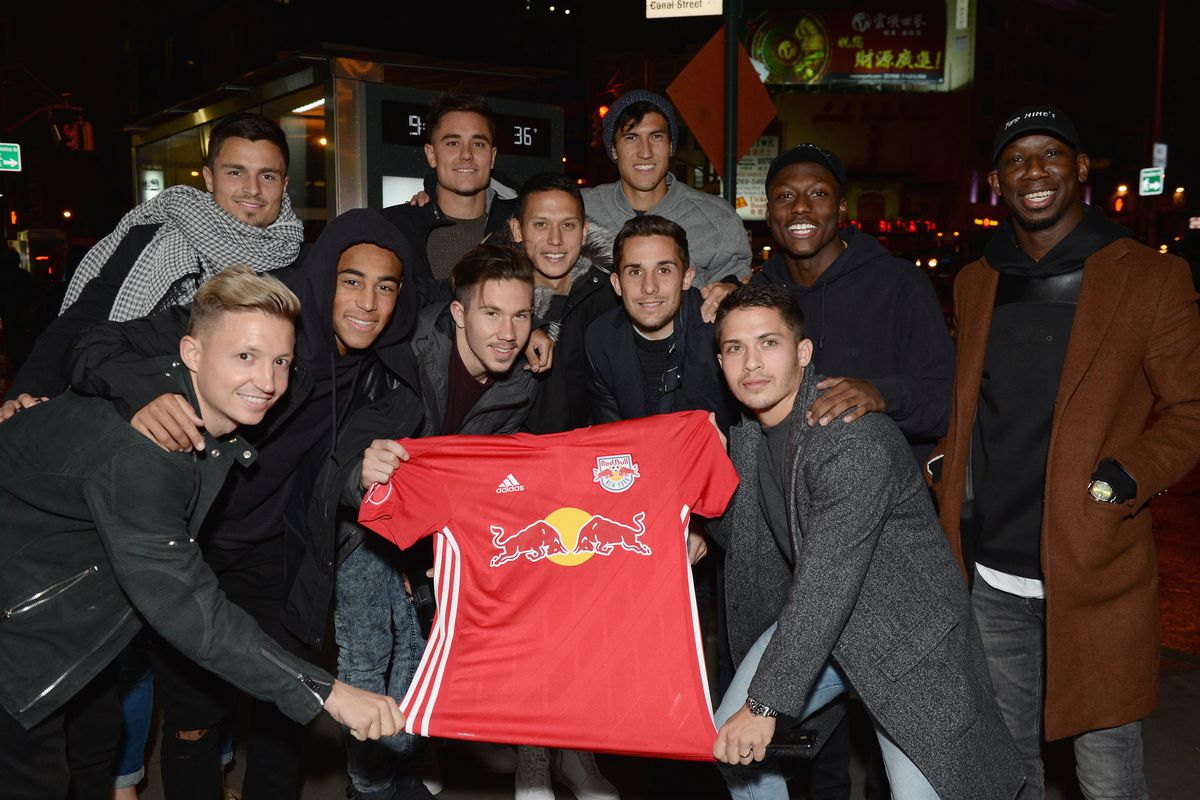 New York Red Bulls - 2018 Jersey Launch