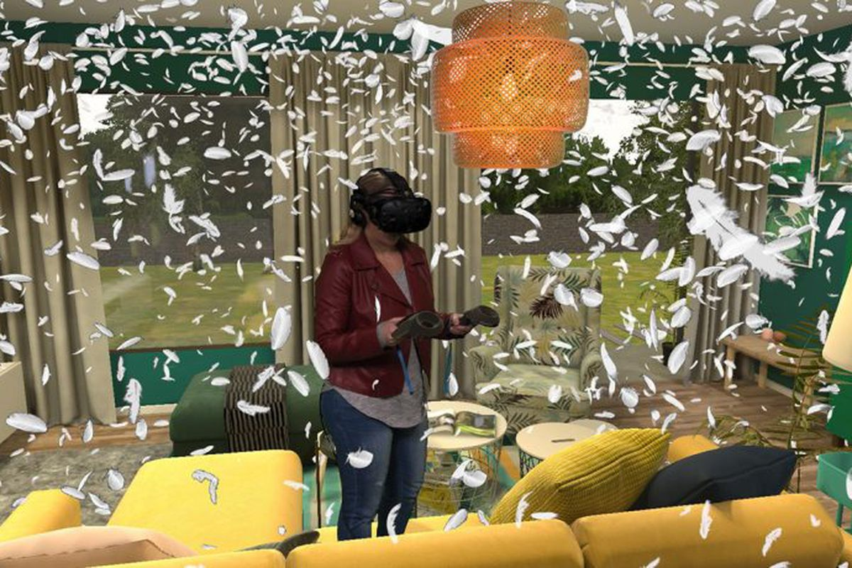 Ikea VR game at new store opening