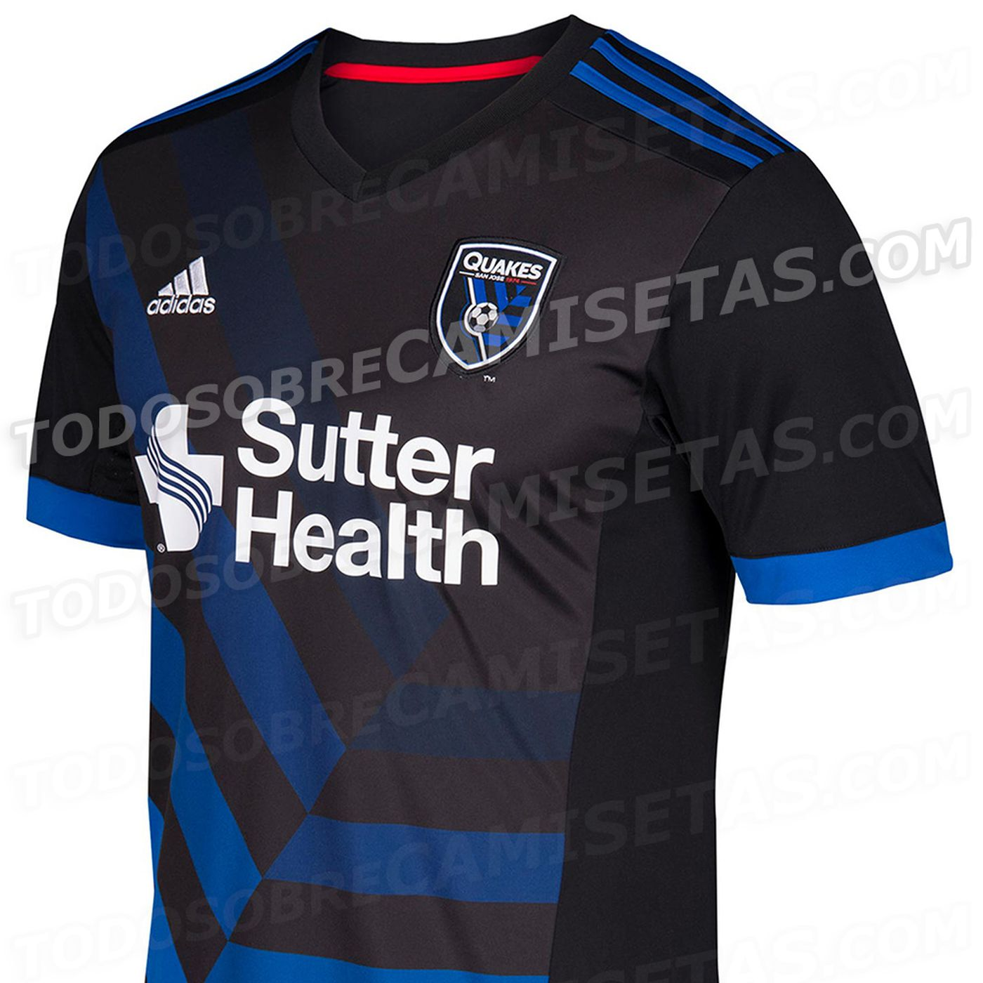 official photos 4789f b49eb New 2017 San Jose Earthquakes primary jersey will be ...
