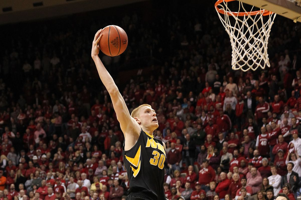 Did you enjoy dunking in Assembly Hall, Aaron?  Good news - you get to do it again next year.