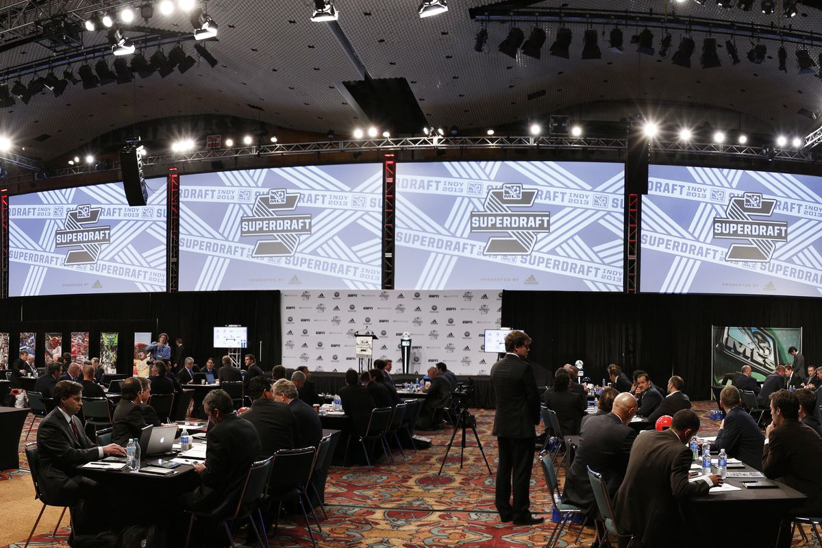 The 2013 MLS Super Draft in Indianapolis, Ind.