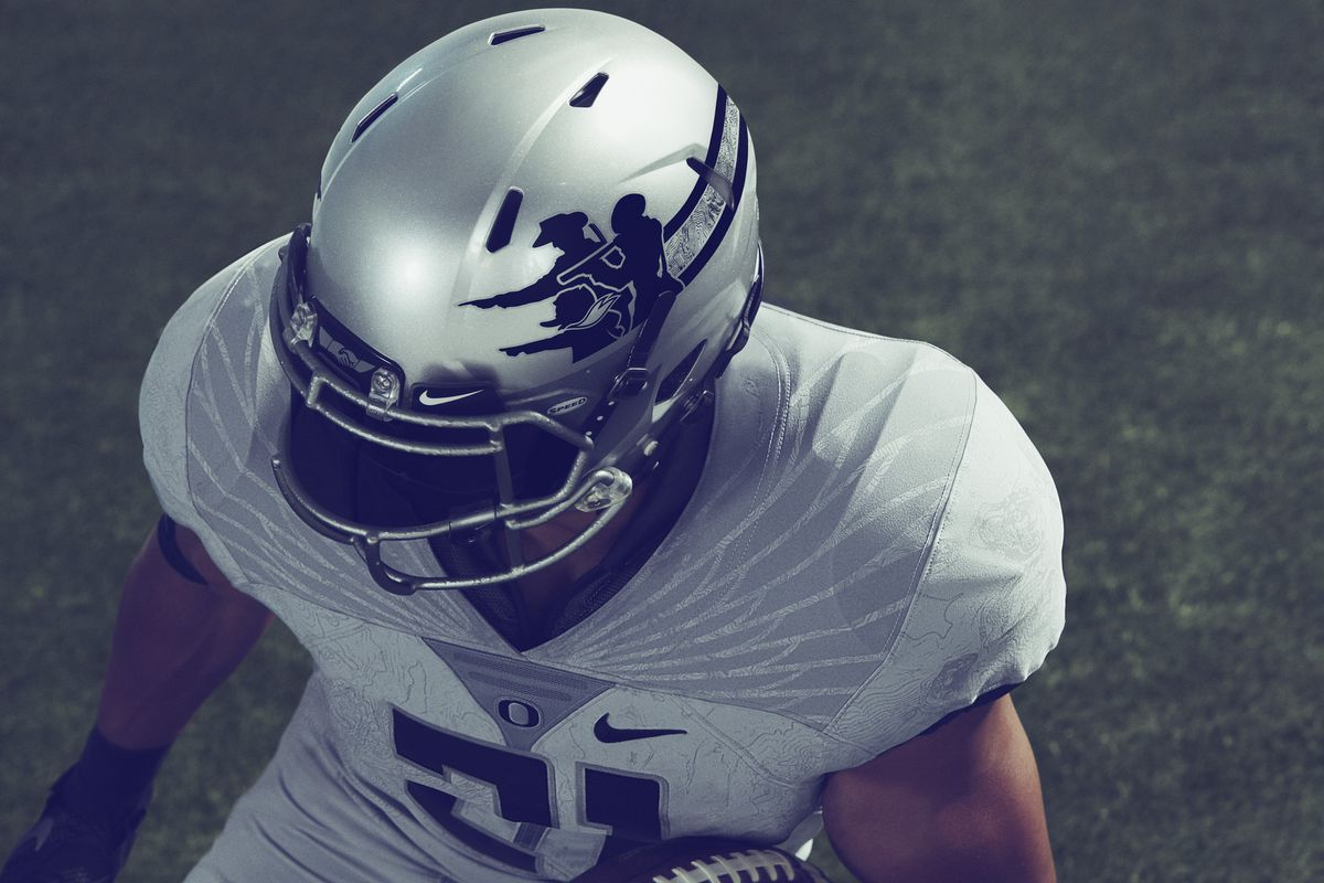 cheaper d86f1 7ac5d Official: Nike unveils new Oregon Pioneers uniforms for ...