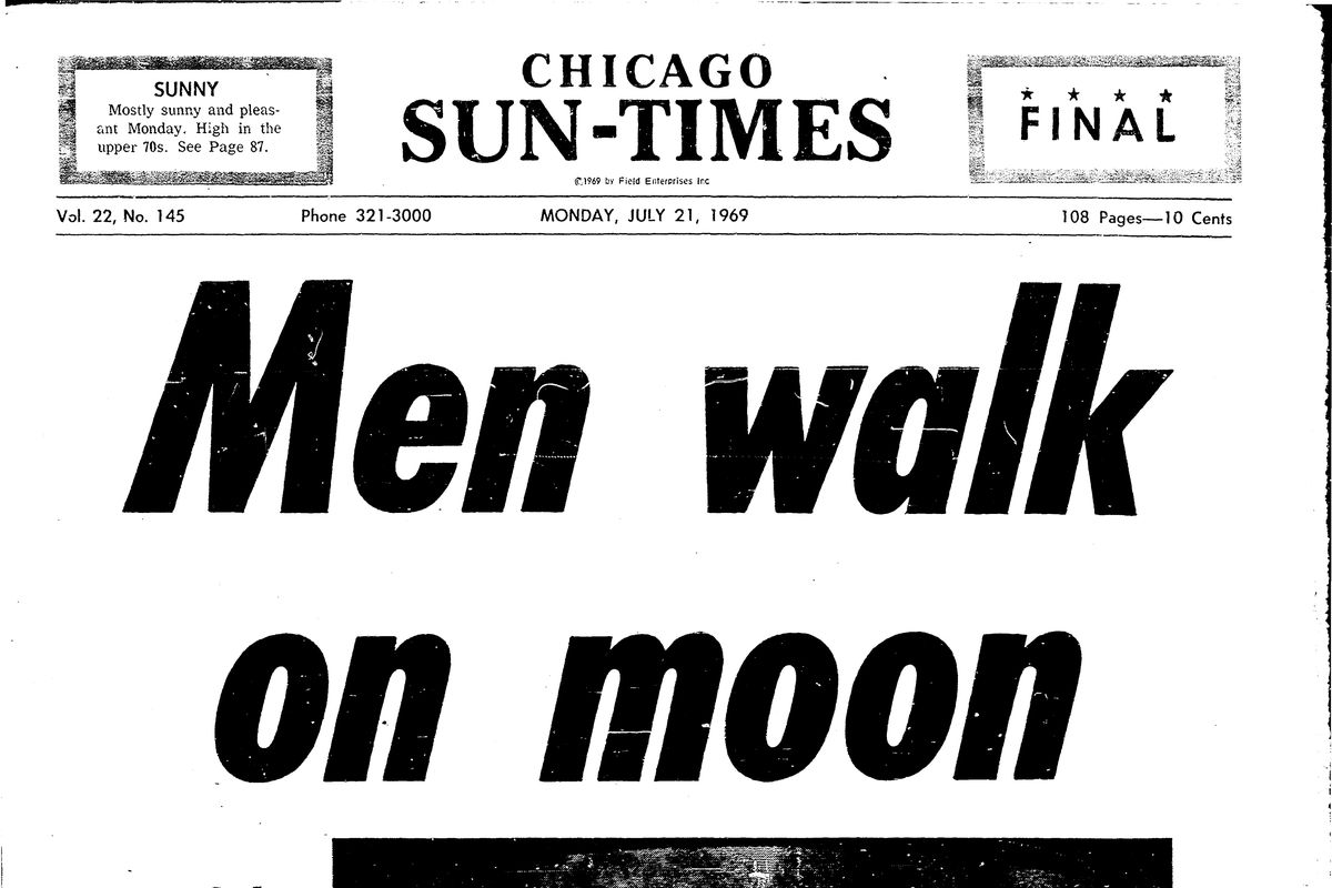 Moon landing milestone: Chicago was wowed in 1969 by Neil Armstrong's first lunar stroll