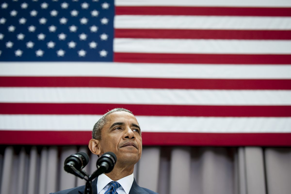 President Obama speaks about the Iran nuclear deal at American University last month.