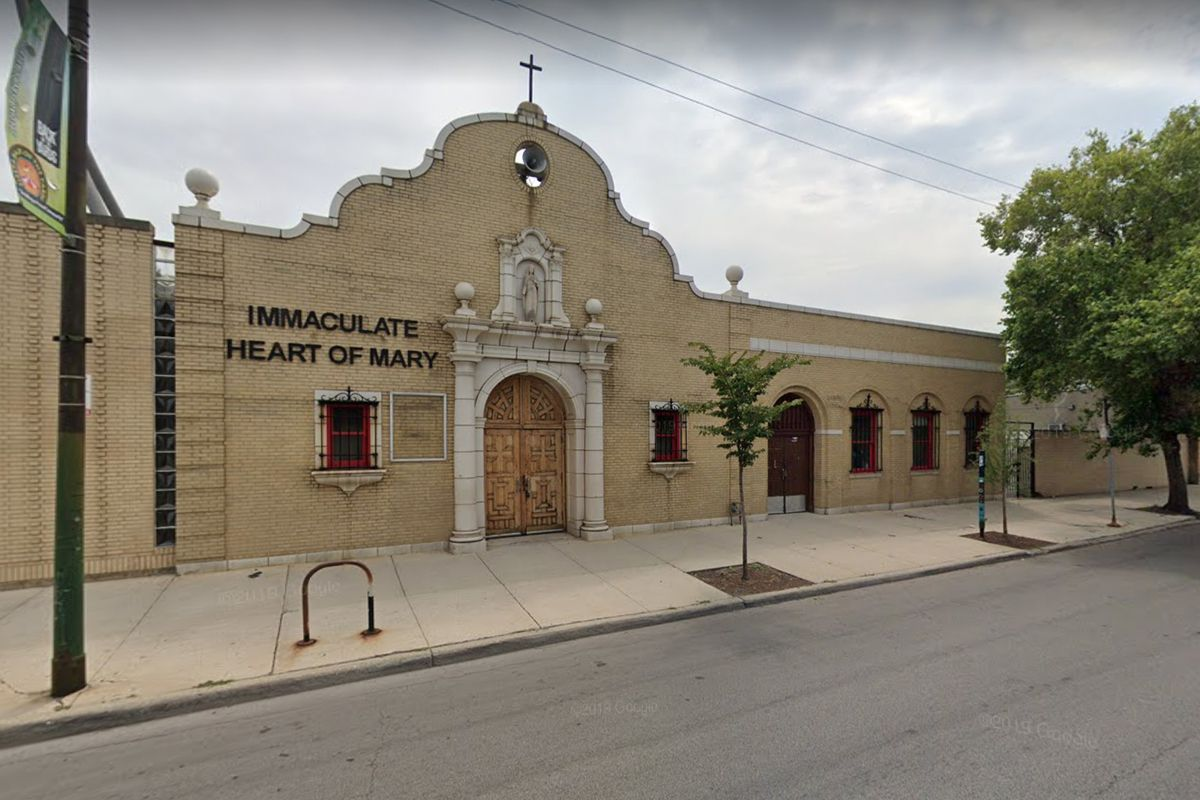 Immaculate Heart of Mary Catholic Church at 4517 S. Ashland Ave. in Back of the Yards.