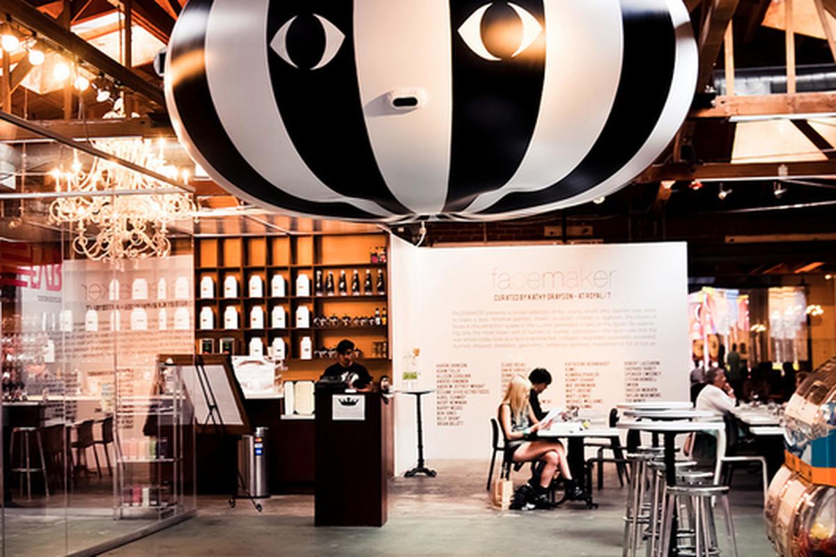 Conoscenti Coffee pop-up at Royal T, Culver City.