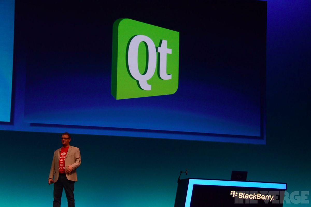 Qt PlayBook