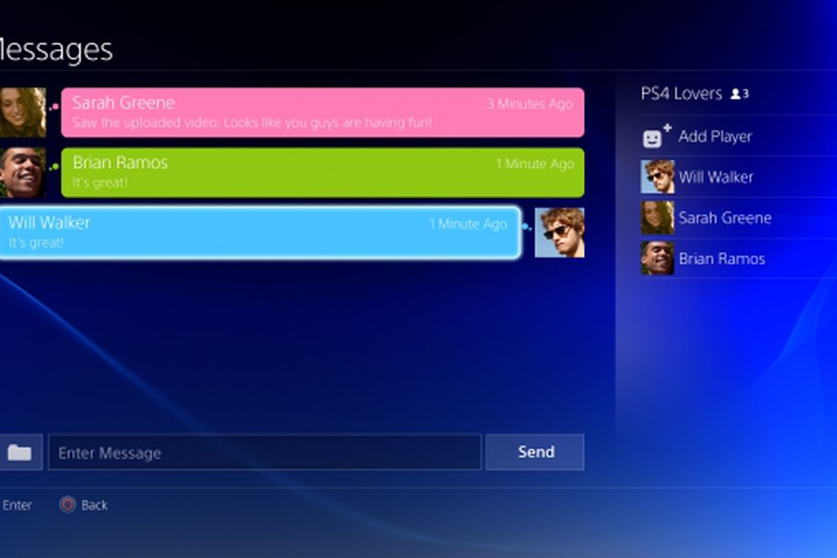 Sony confirms PlayStation 4 party chat works with PS Vita