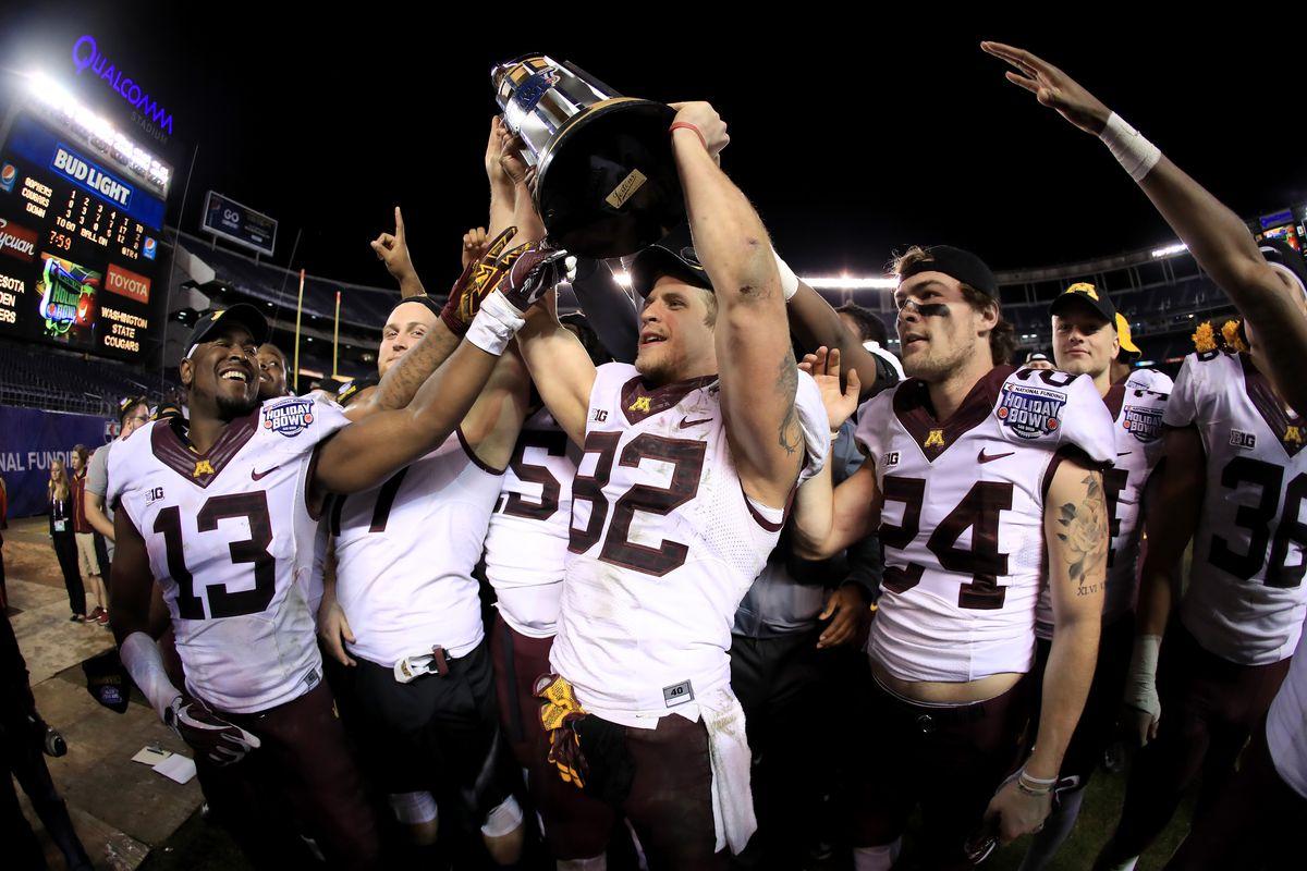 National Funding Holiday Bowl - Minnesota v Washington State
