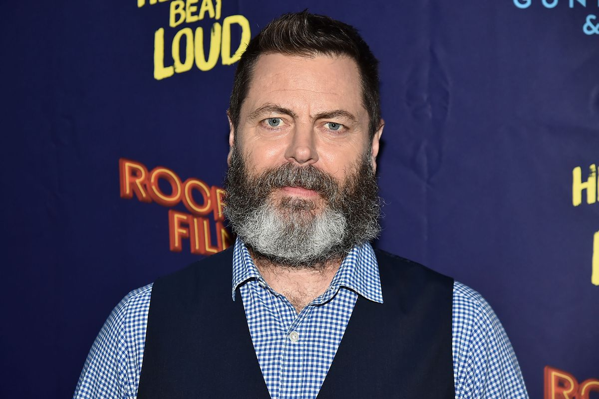 Nick Offerman at the Hearts Beat Loud premiere in New York