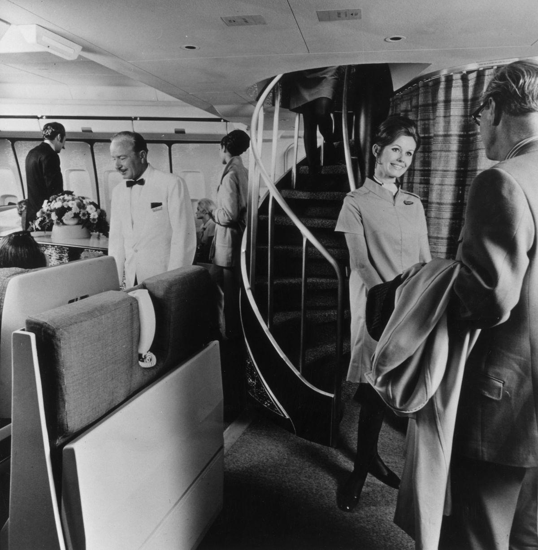 BOAC Cabin Service